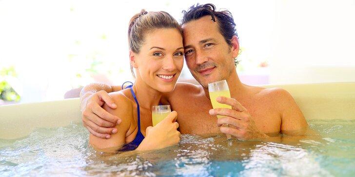 Společné lenošení pro 2 v privátním wellness na 1 - 2 hodiny