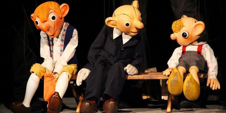 Dvě vstupenky na představení pro dospělé v Divadle Spejbla a Hurvínka