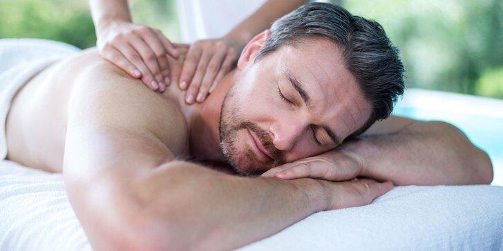 Svaly i mysl si zaslouží odpočinek: rekondiční a sportovní masáž partií dle výběru
