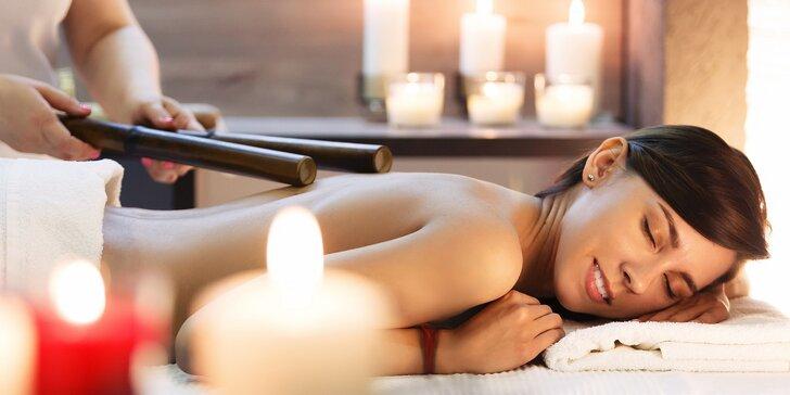 Thajská bambusová masáž ve Spa salonu na 60 minut