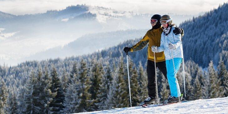 Šumava lyžmo: prosté ubytování na Churáni v těsné blízkosti lyžařských tras