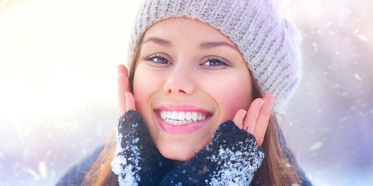 Laserové ošetření obličeje, krku a dekoltu vč. zapracování oleje a kolagenu