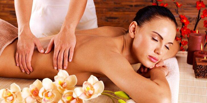 Požitek pro tělo i smysly: 60minutová relaxační aromaterapeutická masáž