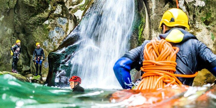 Zdolejte za víkend 3 kaňony v okolí Hallstattu: Canyoning a další zábava