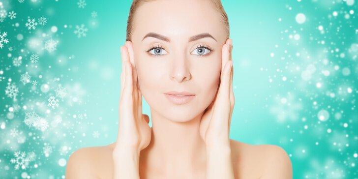 70minutová kosmetická relaxace: regenerační nebo čisticí péče