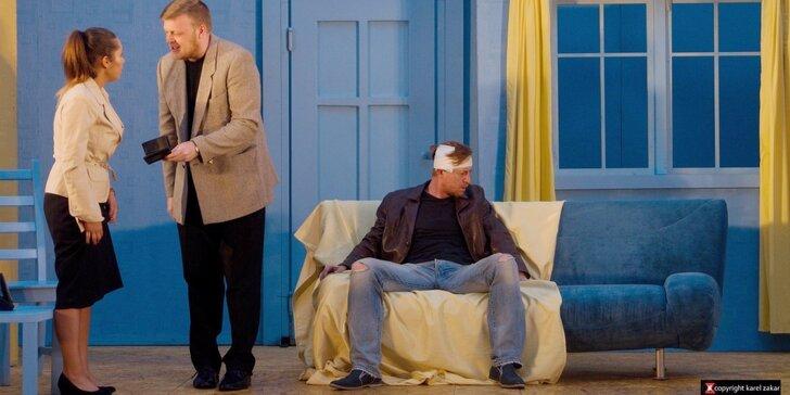 Vstupenka na divadelní představení Běž za svou ženou