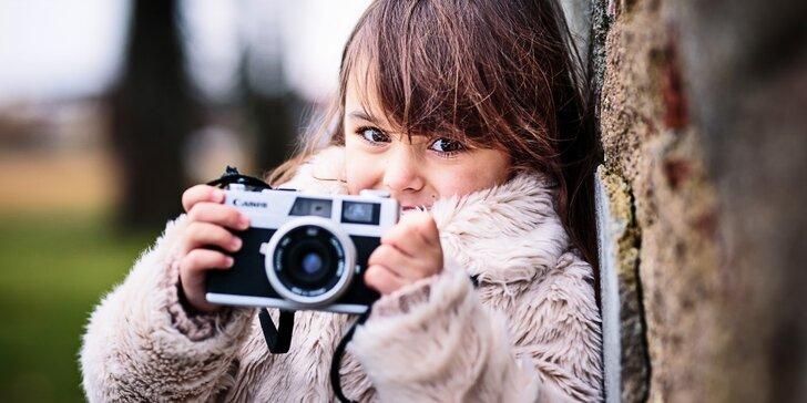 Dětské, rodinné nebo těhotenské fotografování v přírodě