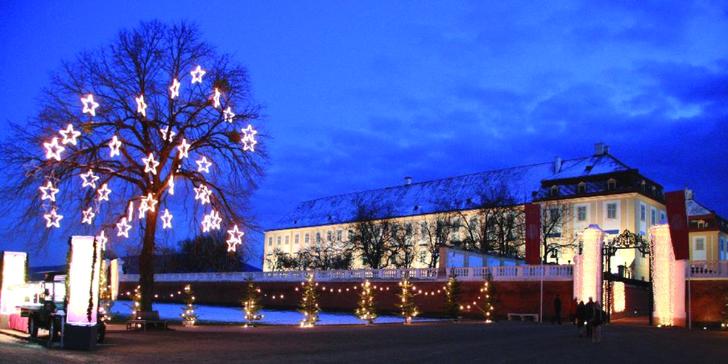 Advent na zámku Schloss Hof a čokoládovna Hauswirth s průvodcem