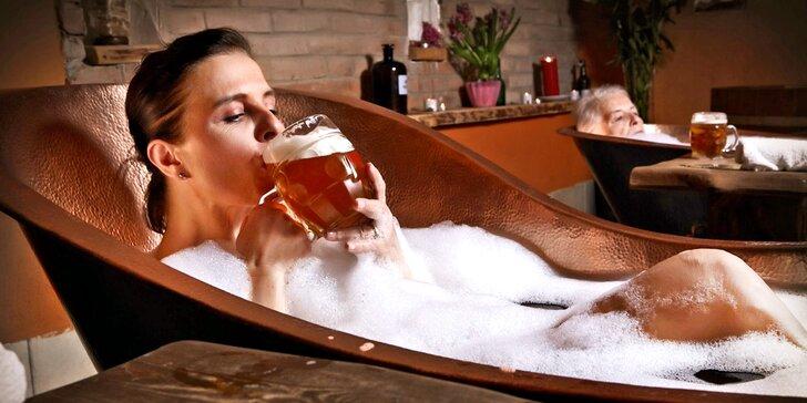 Pivní doktorát s neomezenou degustací nebo procedury v pivních lázních