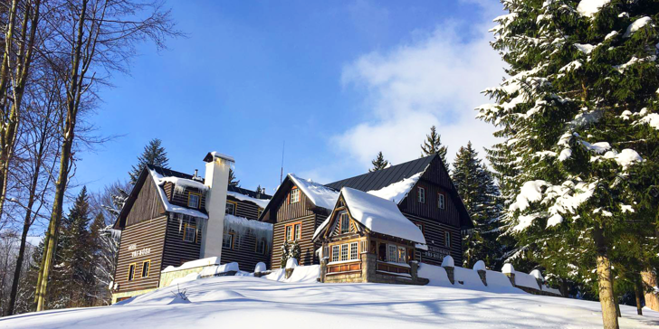 Lyžovačka či jarní pobyt ve Špindlerově Mlýně: polopenze i neomezená sauna