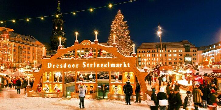 Nasajte pravou vánoční atmosféru během adventního výletu do Drážďan