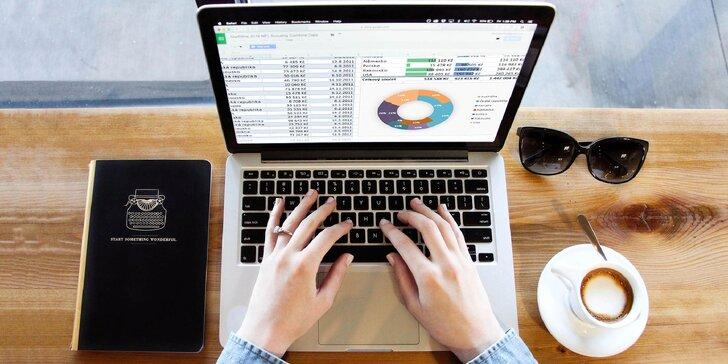 Online kurz Grafy v Excelu s certifikátem pro každého