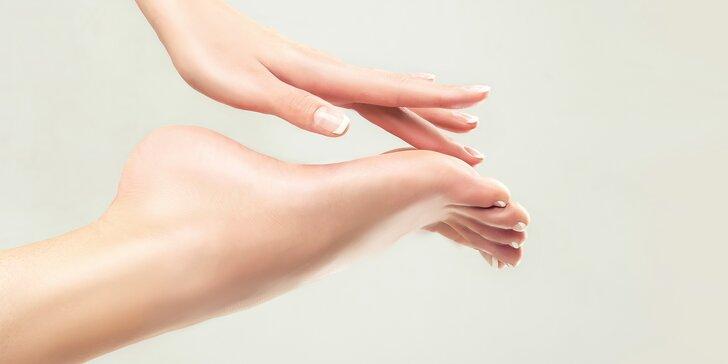 Nohy jako ze škatulky: mokrá pedikúra včetně masáže a laku