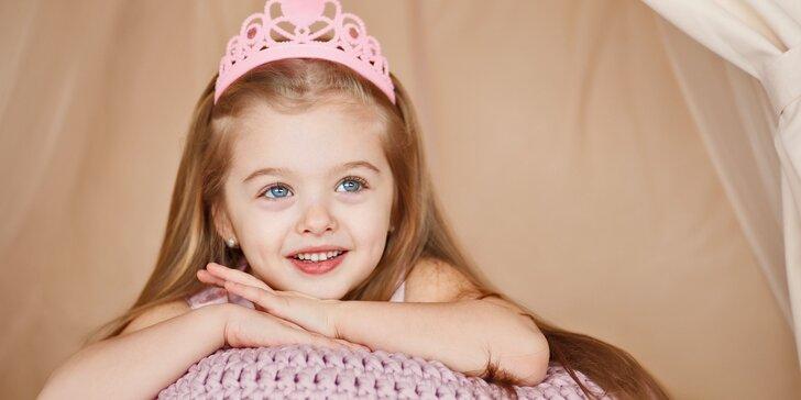 Princeznovský program pro malé i větší slečny – péče o vlasy, nehty i pleť