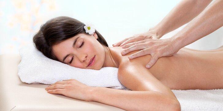 Zbavte se stresu a bolesti zad: Příjemná uvolňující masáž