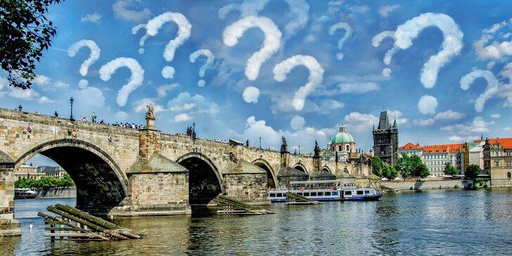 Mrazivá pražská tajemství: outdoorová hra Poklad ztraceného řádu až pro 6 osob