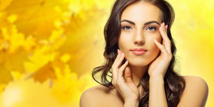 Fotoomlazení obličeje a krku metodou E-light