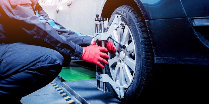 Pozor na sbíhavá kola: Profesionální měření a seřízení geometrie kol vašeho vozu