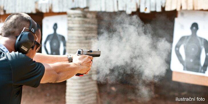 Výběr top zbraní na moderní střelnici: 3, 5 nebo 8 druhů a až 70 nábojů