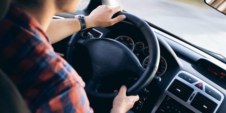 1, 3 nebo 5 kondičních jízd: osvěžte si svoje řidičské znalosti a dovednosti