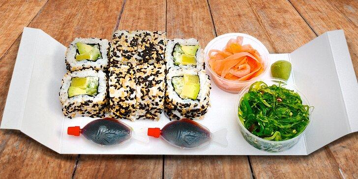 Sushi sety, které si odnesete domů nebo do kanceláře