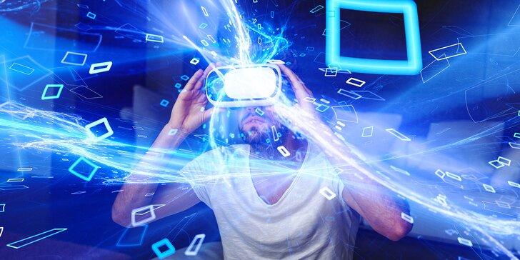 Výlet do jiného světa: hodina ve virtuální realitě až pro 12 lidí i závodní simulátor