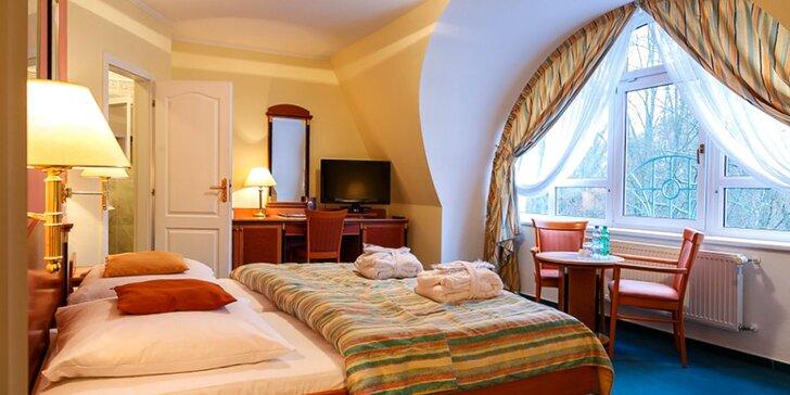 Až 3 dny v Mariánských Lázních ve 4* hotelu se saunou a polopenzí