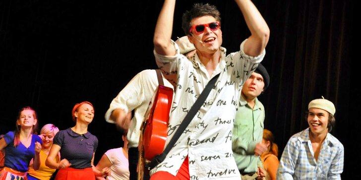 Vstupenka na divadelní představení Šakalí léta