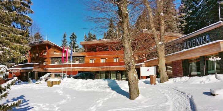 Zimní pohádka: skvělé wellness a polopenze v beskydském hotelu Čeladenka