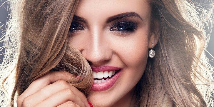 Dokonalá tvář: Permanentní make-up očních linek nebo obočí