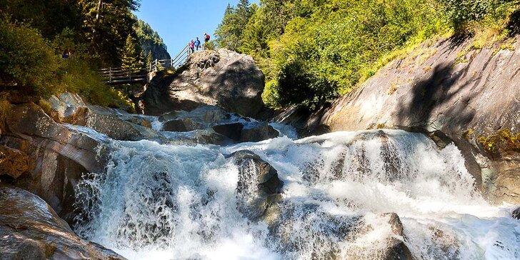Výlet k vodopádům do národního parku Vysoké Taury a zastávka v Salzburgu