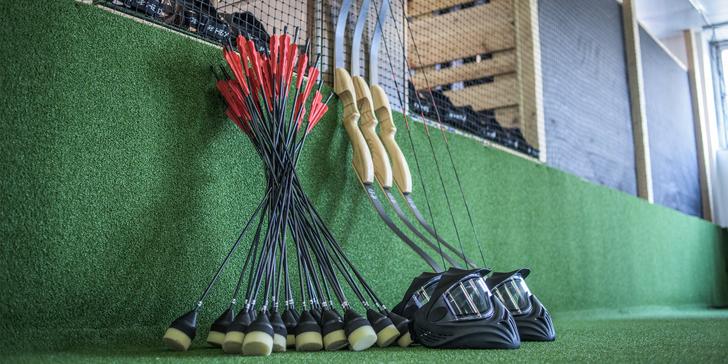 Staňte se lučištníkem: hodina archery game v kryté hale pro jednoho i skupiny
