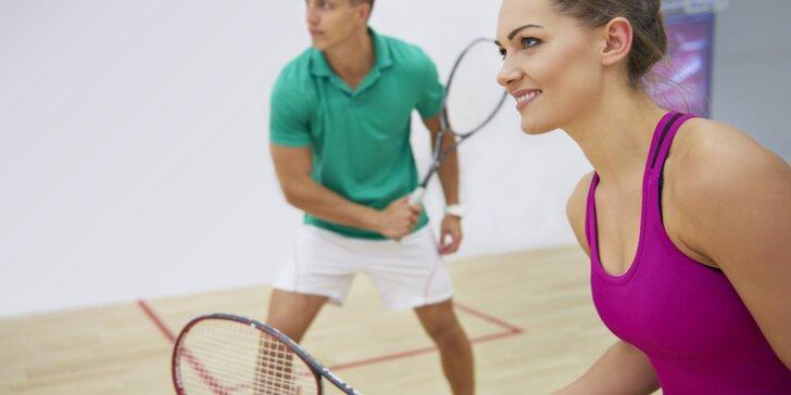 Protáhněte tělo při squashi – hodinový pronájem kurtu v Třešňovce