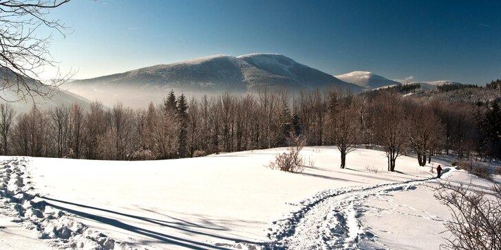Turistická nebo lyžařská dovolená v Beskydech – 3 nebo 4 dny s polopenzí