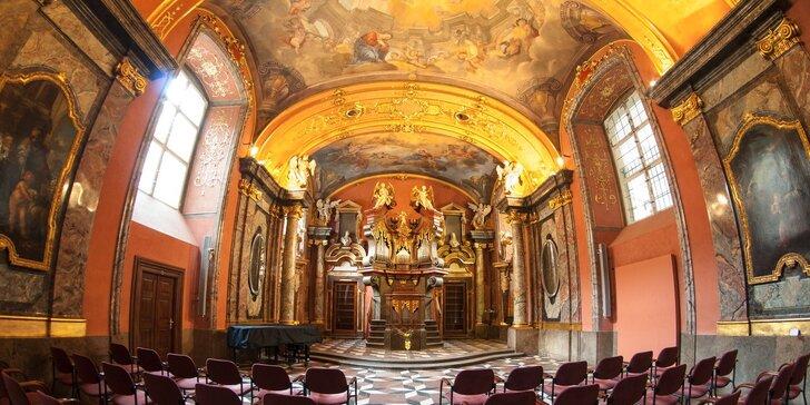 Lednové podvečerní koncerty: Smetana, Dvořák a Vivaldi v Zrcadlové kapli Klementina