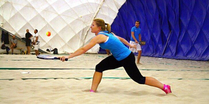 Aktivně strávená neděle: Výuka beach tenisu s trenérem