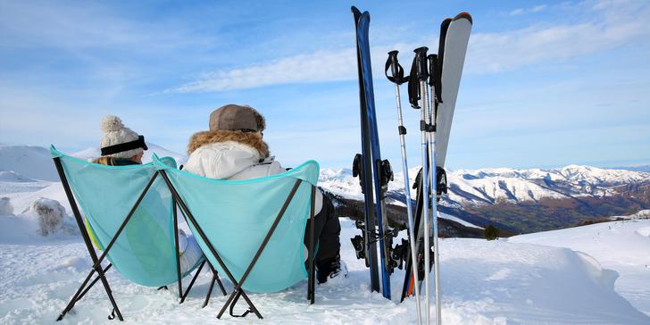 Hurá na lyže: vybavené apartmány pro 4–5 osob jen 400 metrů od Lipna