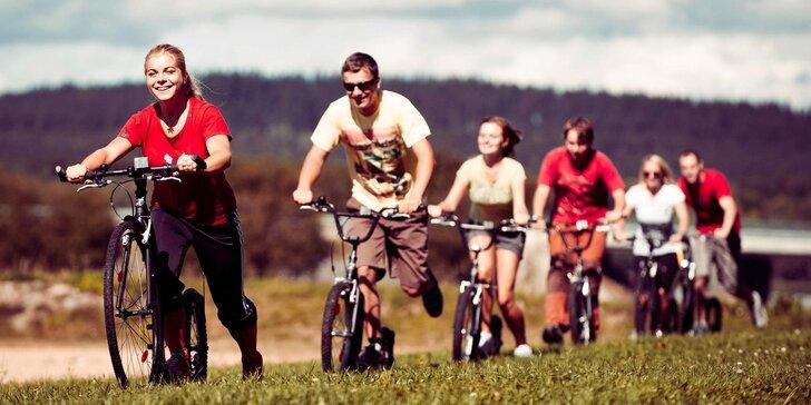 Lipenskem na kolečkách: Zapůjčení sportovní koloběžky Kickbike na 5 hodin