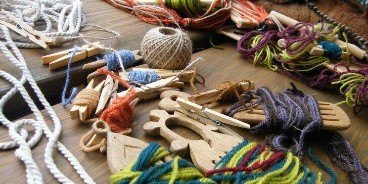 Zpět k tradicím: Celodenní kurz základů tkaní