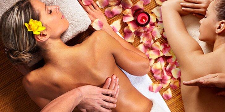 Uvolňující masáž dle výběru v salonu Natanael
