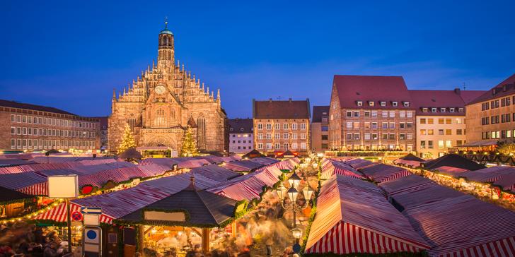 Za vánoční atmosférou na pohádkové adventní trhy do Norimberku