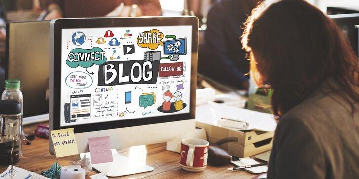 Online kurz: naučte se, jak psát blog, kam se lidé budou vracet v zástupech