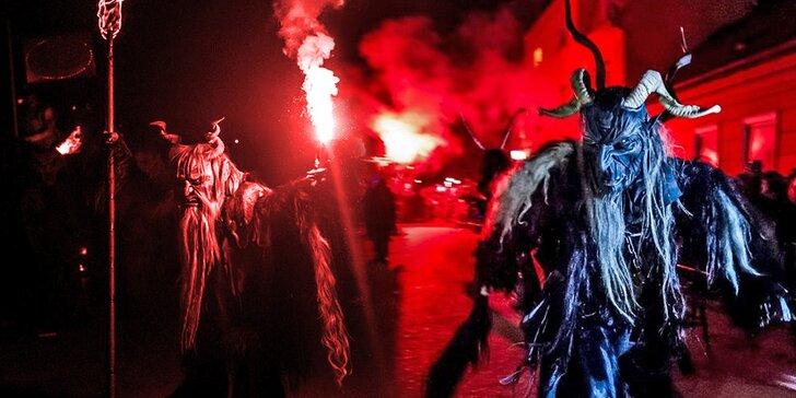 Last Minute: Tradiční běh čertů v Badenu s koupáním v lázních Römertherme