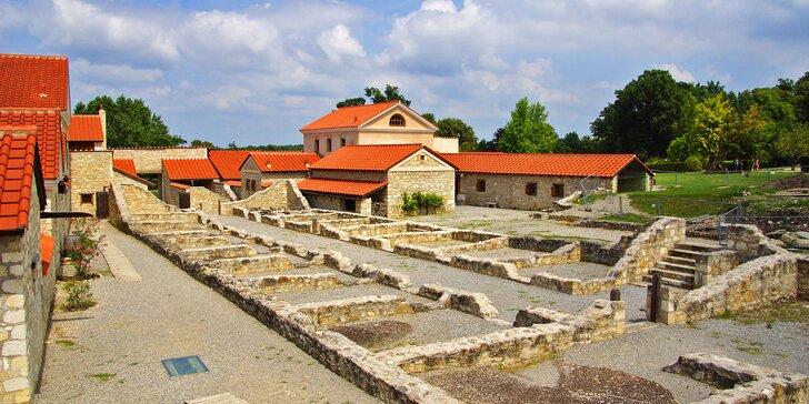 Návštěva slavné čokoládovny a římských památek v Rakousku jen 2 hodiny od Brna