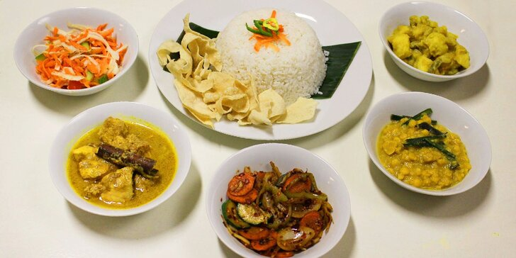 Vánoční degustační menu ve srílanské restauraci