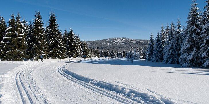 3-6 denní zimní dovolená v Bedřichově s polopenzí pro dva