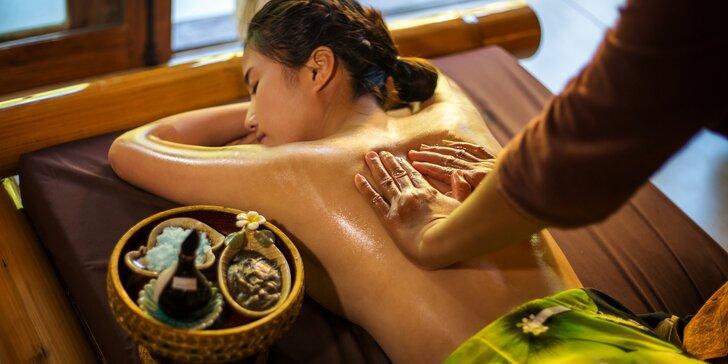 Exotická masáž thajskou či jávskou technikou ve SPA Salonu