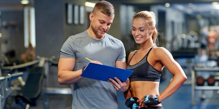 Měsíční cvičební program s osobním trenérem a relaxací v Avalon Fitness