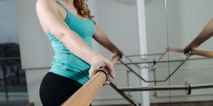 Vyzkoušejte populární cvičení: lekce Barre jógy nebo pilates
