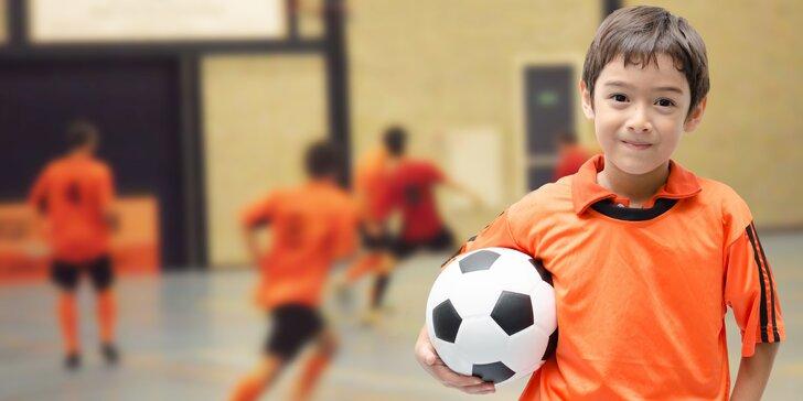 Trénink fotbal děti